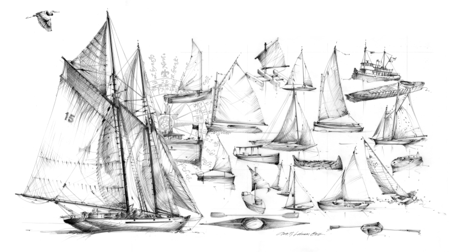 Center for Wooden Boats, graphic 2012