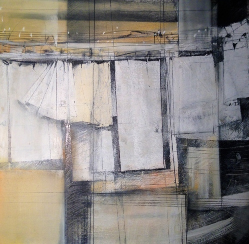 pastel painting and monotype